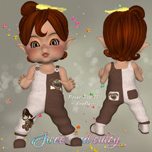 DA-Sweet and cutey for Kit or Peepot Overalls-1 image 7