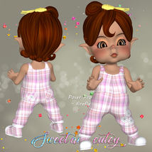 DA-Sweet and cutey for Kit or Peepot Overalls-1 image 8