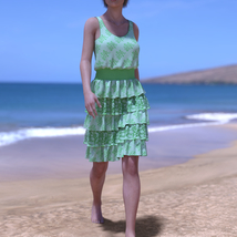 dForce Sunshine Ruffles Dress for G8F image 1
