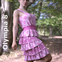 dForce Sunshine Ruffles Dress for G8F image 5
