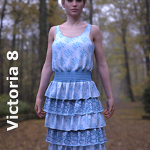 dForce Sunshine Ruffles Dress for G8F image 7