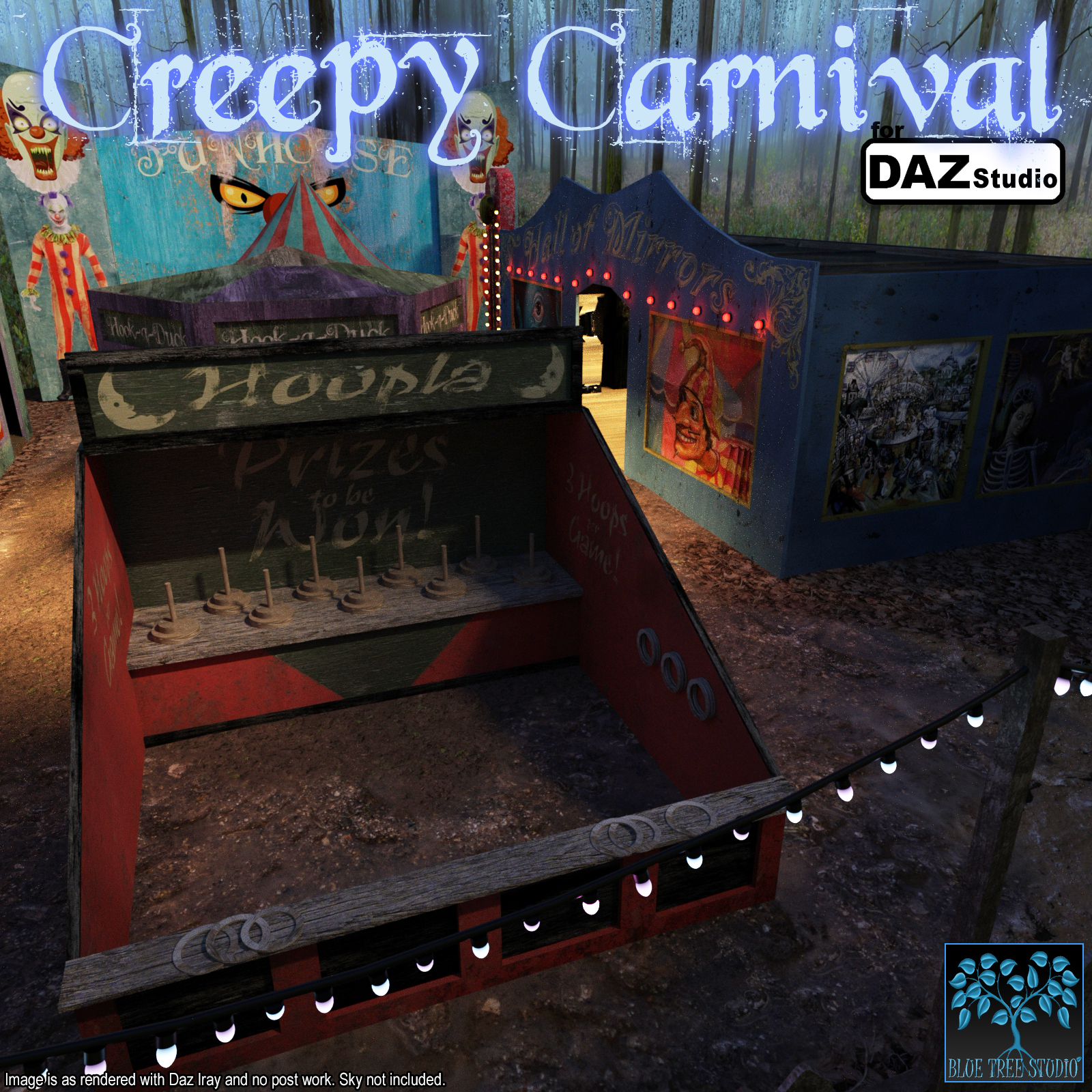 Creepy Carnival for DAZ Studio by BlueTreeStudio