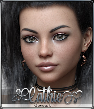SASE Cathie for Genesis 8 3D Figure Assets Sabby