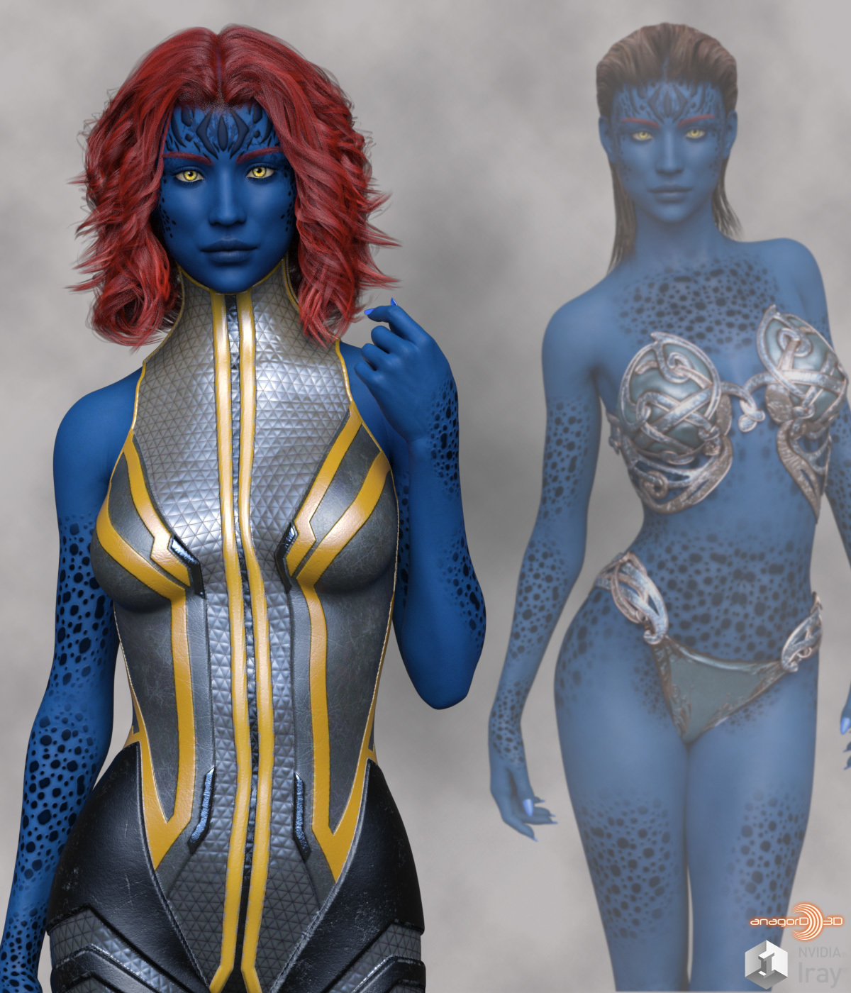 Indigo HD for Victoria 8  by Anagord