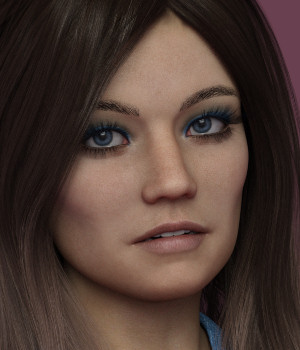 KrashWerks BAYLEY for Genesis 8 Female 3D Figure Assets KrashWerks
