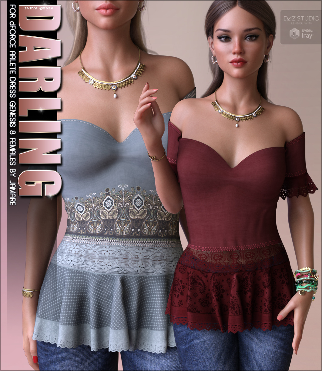 Darling for dForce Arlete Dress G8F by Sveva