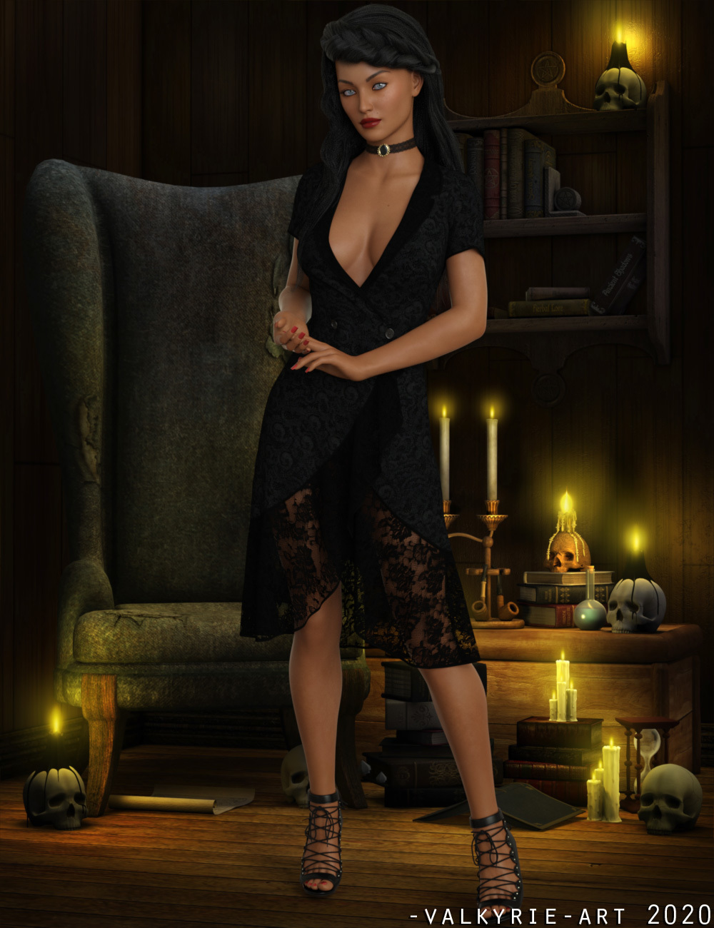 InStyle - dForce Tunic III for G8F by -Valkyrie-