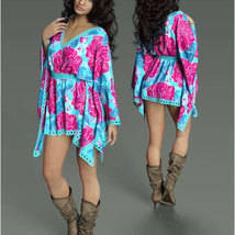 Stylish For dForce - Short Kaftan image 4