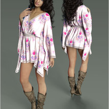 Stylish For dForce - Short Kaftan image 5