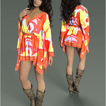 Stylish For dForce - Short Kaftan image 8