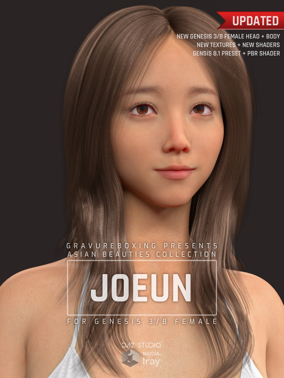 Joeun G3G8F for Genesis 3 and Genesis 8 Female by gravureboxing