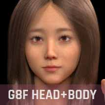 Joeun G3G8F for Genesis 3 and Genesis 8 Female image 3