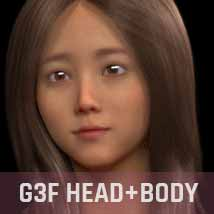 Joeun G3G8F for Genesis 3 and Genesis 8 Female image 4