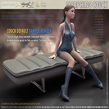 Morphing Couch for Daz Studio image 2