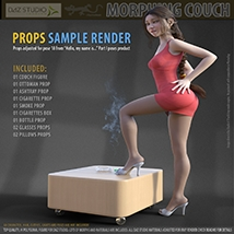 Morphing Couch for Daz Studio image 5