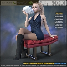 Morphing Couch for Daz Studio image 7