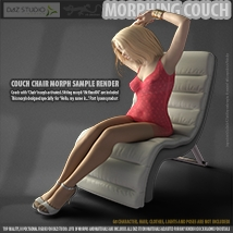 Morphing Couch for Daz Studio image 8