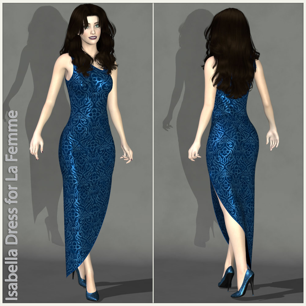 Isabella Dress for La Femme by karanta