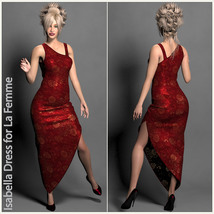 Isabella Dress for La Femme image 1