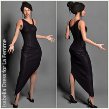Isabella Dress for La Femme image 2