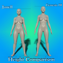 Janell for Genesis 8 image 2