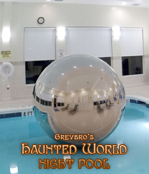 Greybro's Haunted World - Night Pool Dusk HDRI 3D Lighting : Cameras Disciple3d
