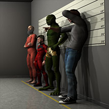 Usual Suspects for Poser and DS image 1