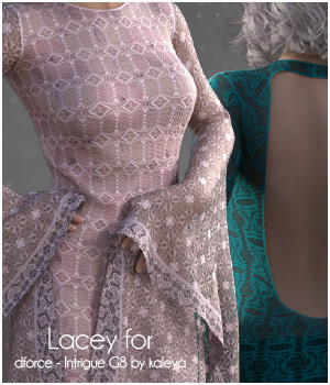 Lacey for Intrigue 3D Figure Assets adarling97