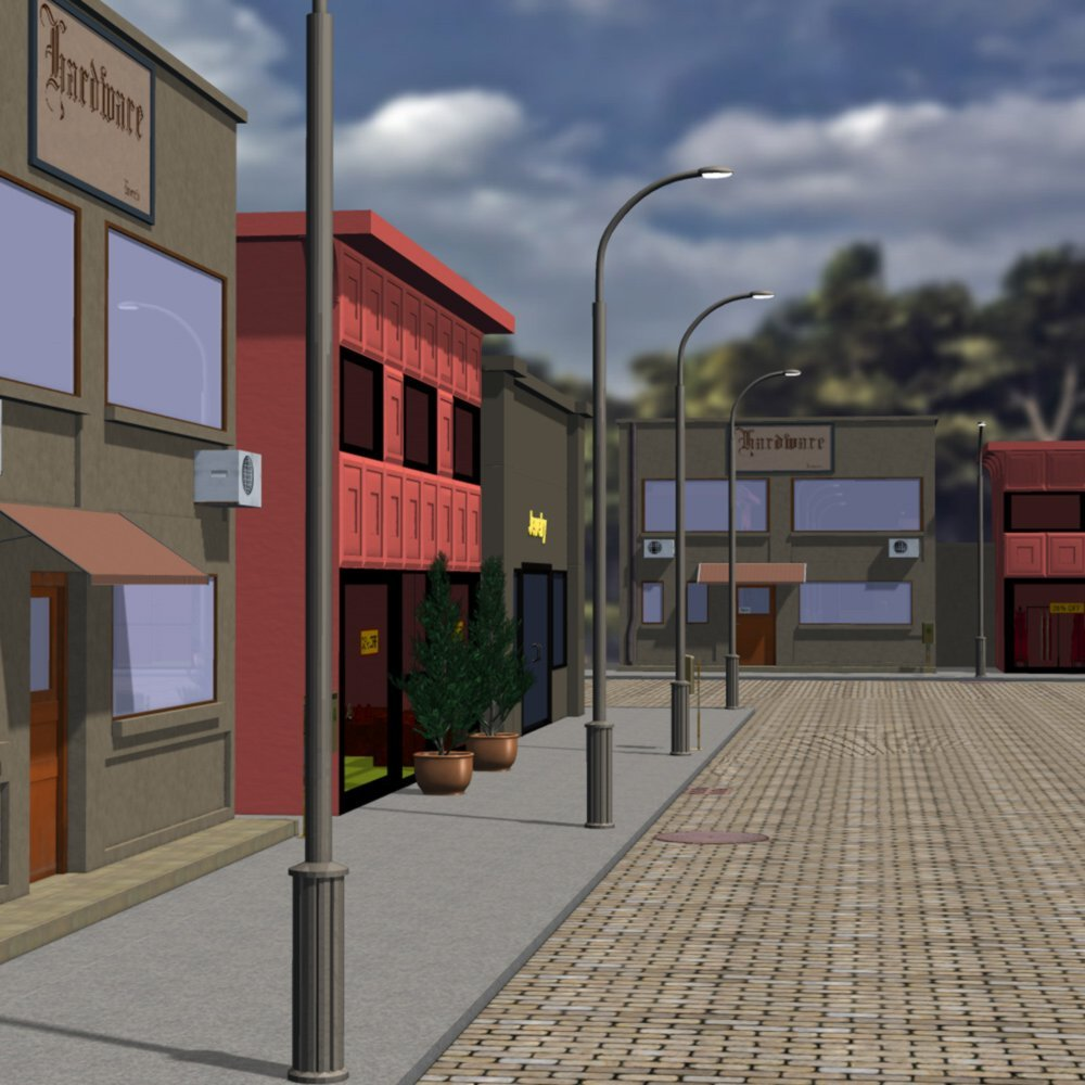 My Street for Poser by VanishingPoint