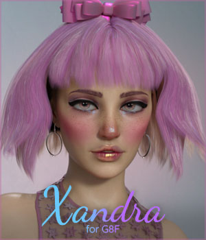 Xandra for Genesis 8 Female 3D Figure Assets ColorGaleria