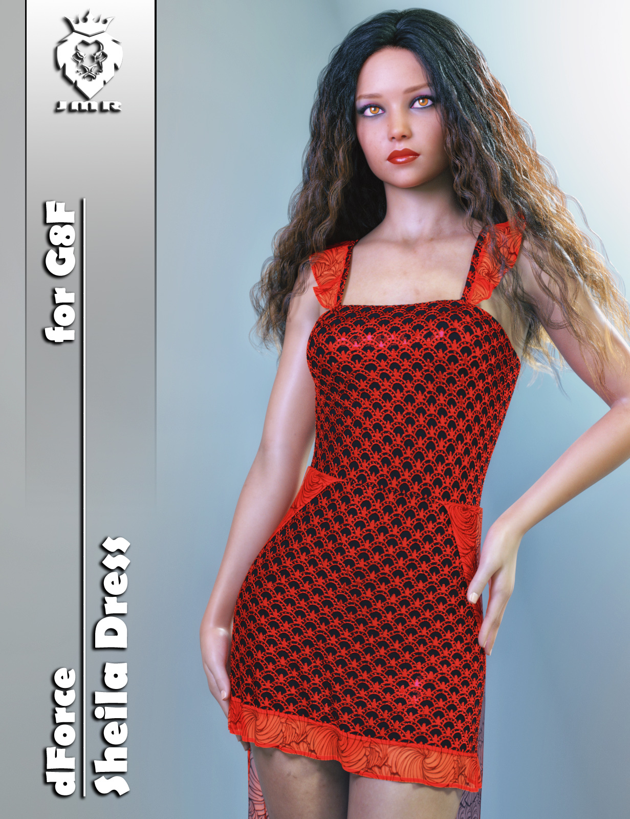 JMR dForce Sheila Dress for G8F by JaMaRe