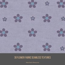 30 Flower Fabric Seamless Textures image 2