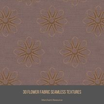 30 Flower Fabric Seamless Textures image 10