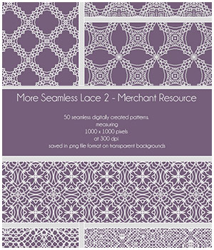 More Seamless Lace 2 - Merchant Resource  2D Graphics Merchant Resources adarling97