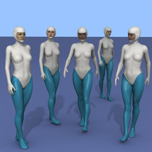 25 more Walking Poses for G8F image 5