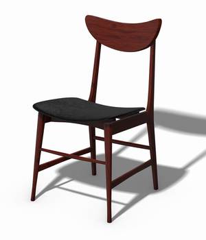 Scandinavian Design Chair 70 - Photoscanned PBR - Extended License 3D Game Models : OBJ : FBX 3D Models Extended Licenses TunnelVision
