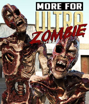 MORE for Ultra Zombie G8F 3D Figure Assets powerage