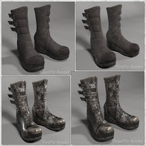 PBR Styles for LF Charade Boots image 1