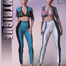 Intrigue for dForce Selected Outfit G8F image 1