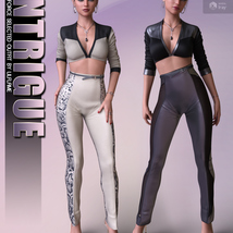 Intrigue for dForce Selected Outfit G8F image 2