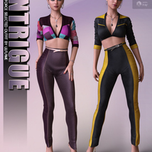 Intrigue for dForce Selected Outfit G8F image 3