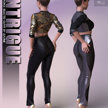 Intrigue for dForce Selected Outfit G8F image 5