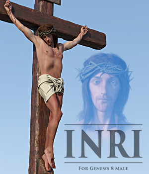 INRI for G8M 3D Figure Assets powerage