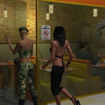 The Mall Pizza Hot Poses image 7