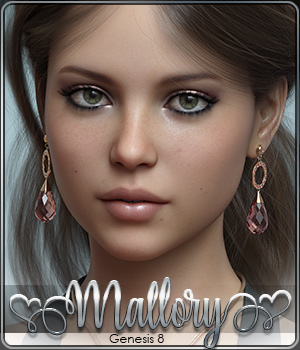 SASE Mallory for Genesis 8 3D Figure Assets Sabby