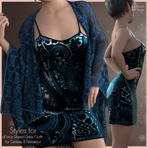 Styles for Shirred Dress image 9