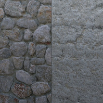 Panoramic Texture Resource: Worn Walls - Extended License image 1