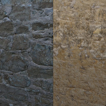 Panoramic Texture Resource: Worn Walls - Extended License image 4