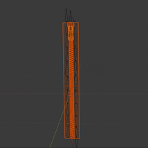 Zipper. Fully rigged  - Extended License image 6