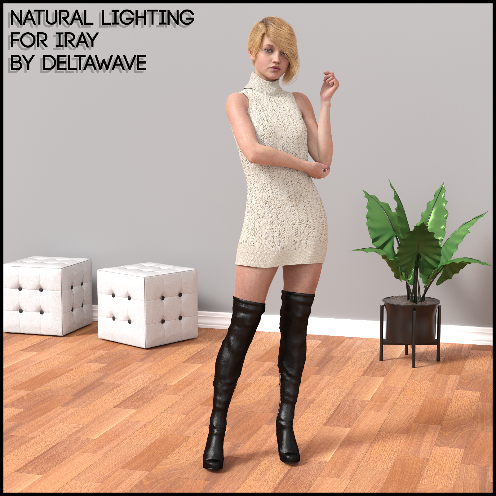 Natural Lighting For Iray by DeltaWave